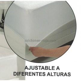 Protector Rizo 100% Algodón 160gr Impermeable