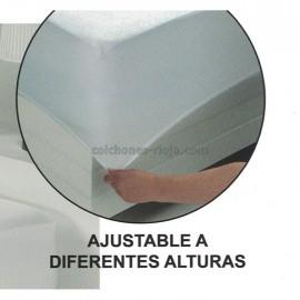 Protector Tejido Plano 100% Algodón Impermeable