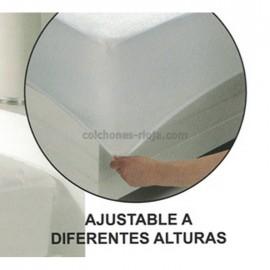 Protector Acolchado Microfibra Impermeable
