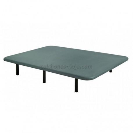 Base tapizada rejilla 3d gris
