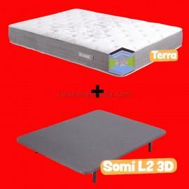 Pack Terra Grafeno + Base tapizada 3d